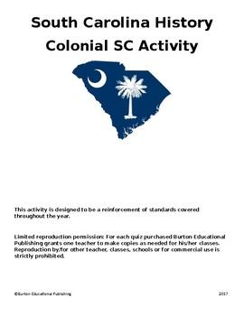 Colonial SC Activity