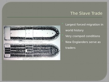 Colonial Slavery ppt