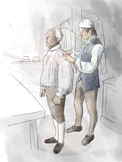 Colonial Tailor Clipart