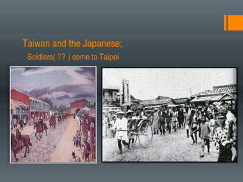 Colonial Taiwan and Japan, The Birth of Taiwanese Identity