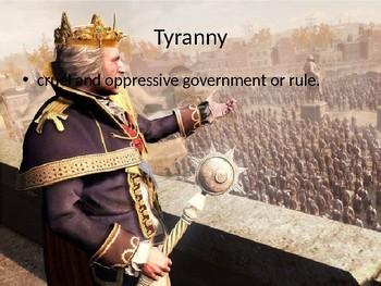 Colonial Tensions Vocab