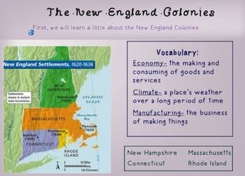 Colonial America Unit: Smart Notebook
