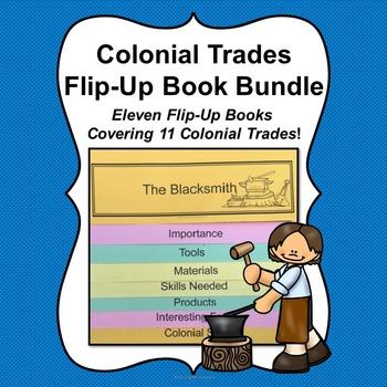 Colonial Trades Flip-Up Books Bundle