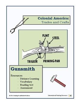 Colonial Trades Lesson 10 - Gunsmith