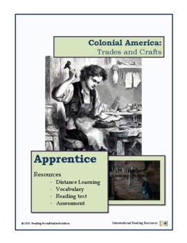 Colonial Trades Lesson 14 - Apprentice