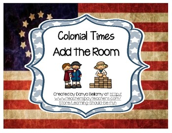Colonial Tradespeople Add the Room
