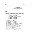 Colonial Unit - Math Worksheet for 4th grade (currency con