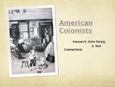 Colonial Unit - Math & Science Powerpoint for 4th grade