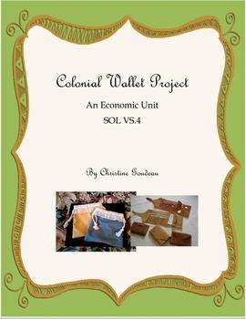 Colonial Virginia Economics Wallet Project - In-Class Activities - FUN!