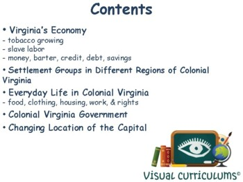 VA Studies: Colonial Virginia Lesson - study guide, exam prep