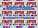Colonial Virginia (VA) SOL Jeopardy Review Game