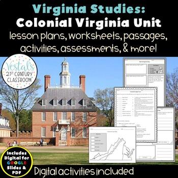 Colonial Virginia VS.4 {Digital & PDF Included}