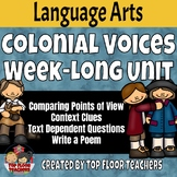 Colonial Voices Week Long Reading Unit