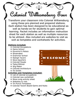Colonial Williamsburg Stations