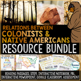 Colonial and Native American Relations Activities Bundle