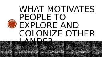 Colonial and Revolutional Period Unit Motivational Lesson