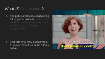 Colonialism Intro Lecture