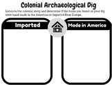 Colonialism Mercantilism Project Based Learning Activity
