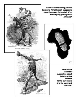 Colonialism and Imperialism Political Cartoon