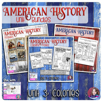 Colonies Activities Bundle - US History