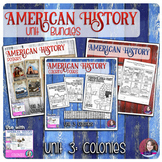 13 Colonies Activities Bundle - US History