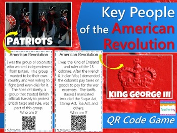 Colonies & American Revolution BUNDLE {Task Cards with QR codes & more}