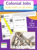 Colonies & American Revolution BUNDLE {Task Cards with QR