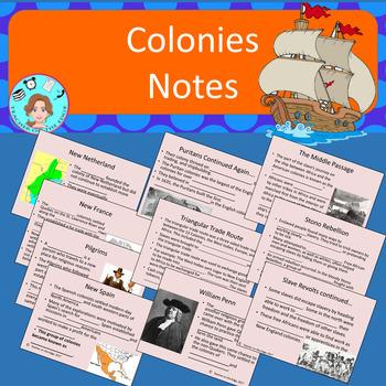Colonies Bundle – Upper Elementary – No Prep, Print & Go