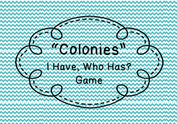 Colonies Game