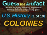"Colonies ""Guess the Artifact"" game with pictures & clues (1 of 10)"