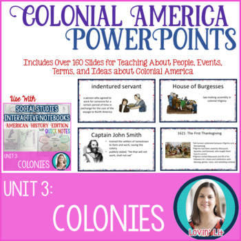 13 Colonies Lesson PowerPoints