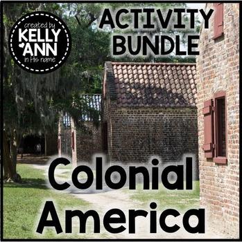13 Colonies Activity BUNDLE