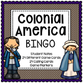 13 Colonies Activity - BINGO