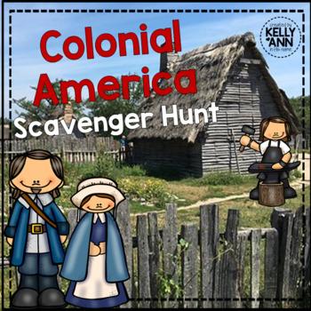 13 Colonies Activity - Scavenger Hunt