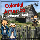 13 Colonies Activity - Scavenger Hunt