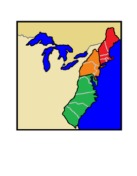 Colonies in North America (Part 1) First English Colonies SOL USI 5a
