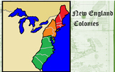 Colonies in North America (Part 2) New England Colonies SOL USI 5a-d