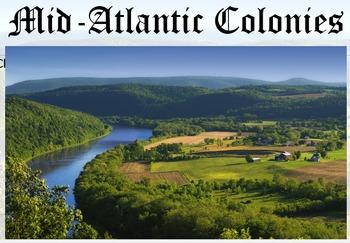 Colonies in North America (Part 3) Mid- Atlantic Colonies SOL USI 5a-d