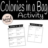 Colonies in a Bag Activity