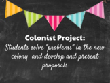 Colonist (Pilgrim) Lesson and Project