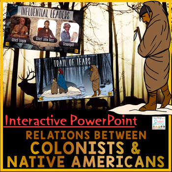 Colonist and Native American Relations PowerPoint