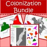 Colonization Bundle Jamestown Plymouth 13 Colonies & Europ