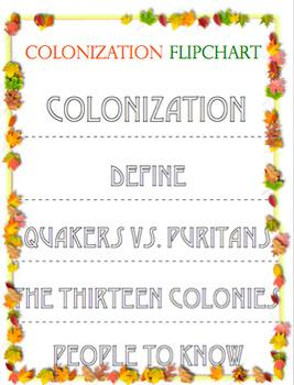 Colonization Flip Chart