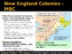 Colonization - New England Colonies