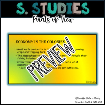 Colonization - Points of View, 4.1.E, SC 2020 College & Career