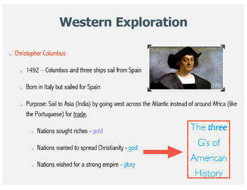 Colonization PowerPoint