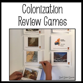 Colonization Review Games