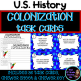 Colonization Task Cards