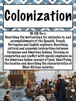 Colonization - US History to 1865 Cornell Notes
