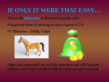 Colonization and Empressarios